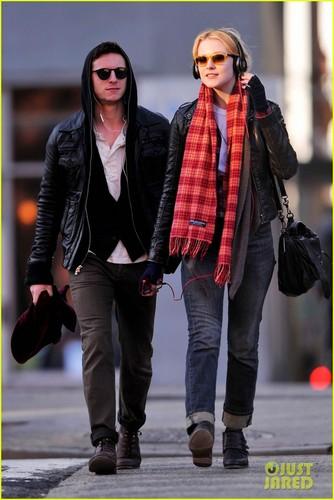 Evan Rachel Wood & Jamie Bell: Bleecker Playground Pair