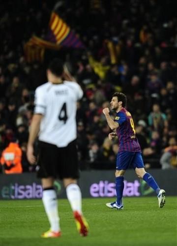 FC Barcelona (2) v Valencia CF (0) - Copa del Rey