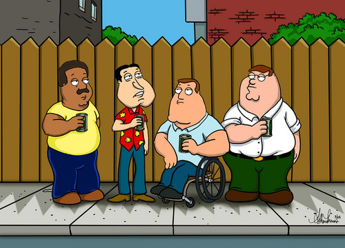 Family Guy King of the colina