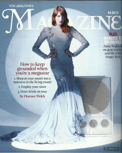 "Florence on ""Time Magazine"" Cover"