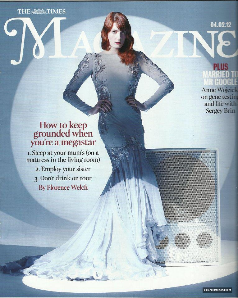 """Florence on """"Time Magazine"""" Cover"""
