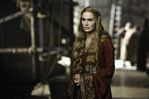 Lena Headey wallpaper possibly with a fur coat entitled Game Of Thrones: S2 Production Stills