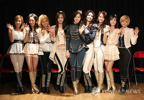 Girls' Generation Paris press conference
