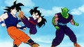 Gohan training with Goku and Piccolo  - dragon-ball-z screencap