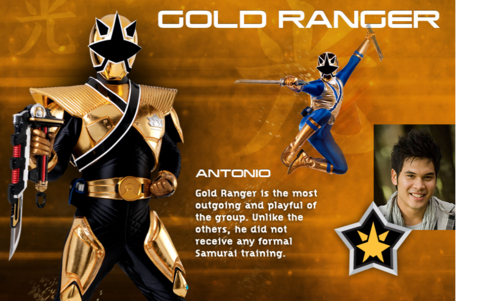 oro Super Samurai Ranger