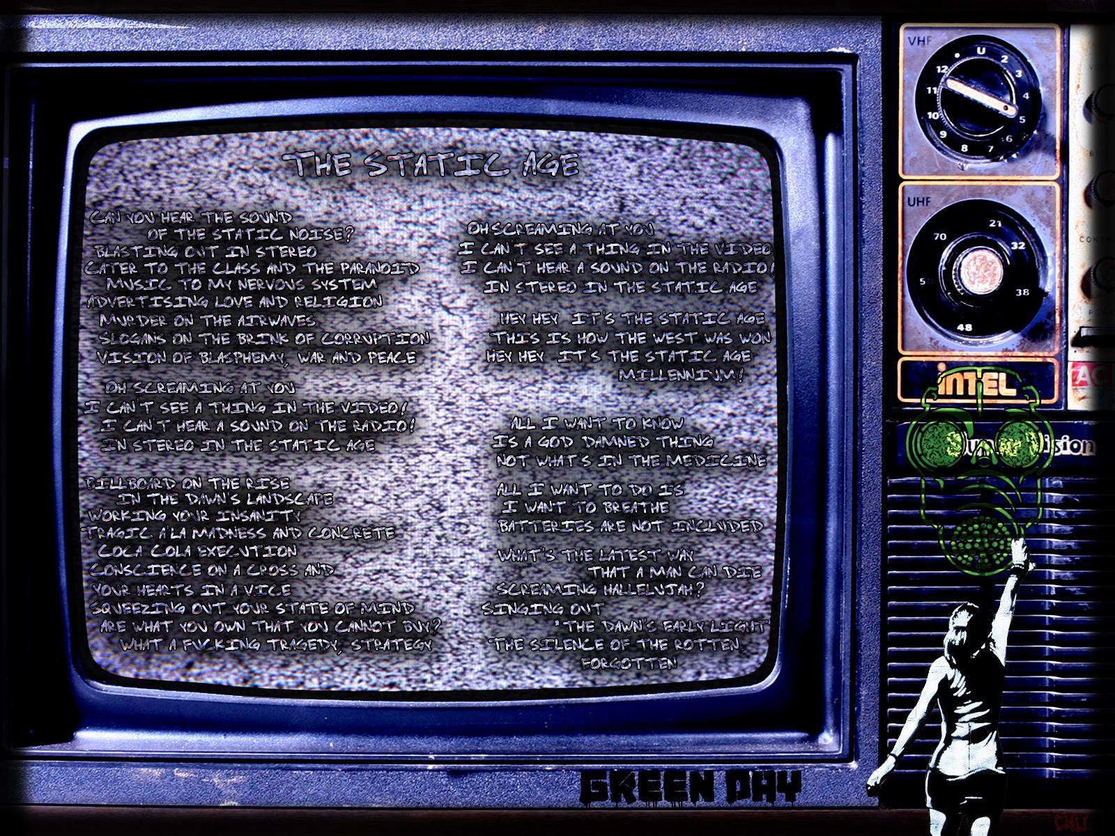 Green Day: The Static Age-Lyrics