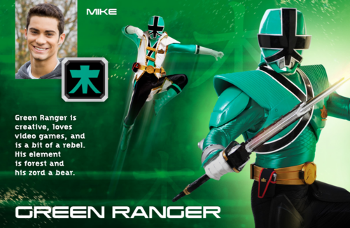 Green Super Samurai Ranger
