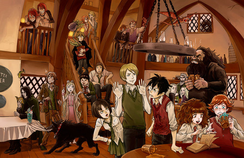 Harry Potter - anime