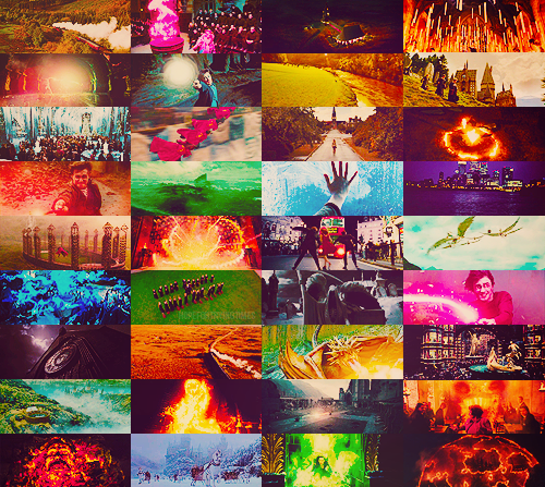 Harry Potter scenery