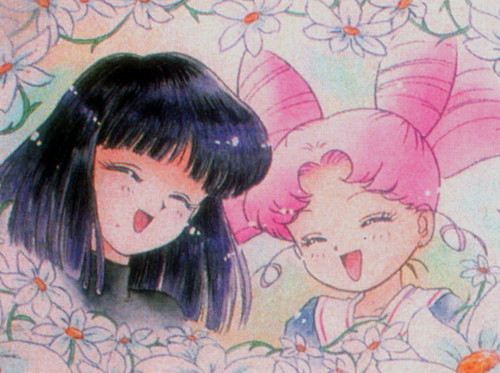 Hotaru and Rini