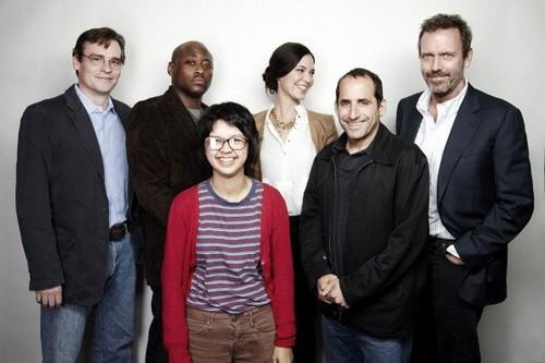 Hugh Laurie and Cast of house-SAG Foundation on 5.12.2011 in Los Angeles, California.
