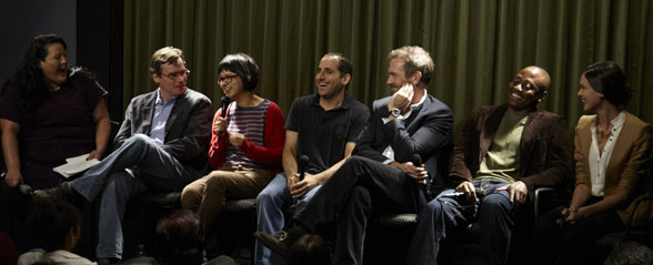 Hugh Laurie and Cast of house-SAG Foundation on 5.12.2011 ...