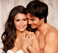 Ian and Nina EW photo shoot - ian-somerhalder-and-nina-dobrev photo