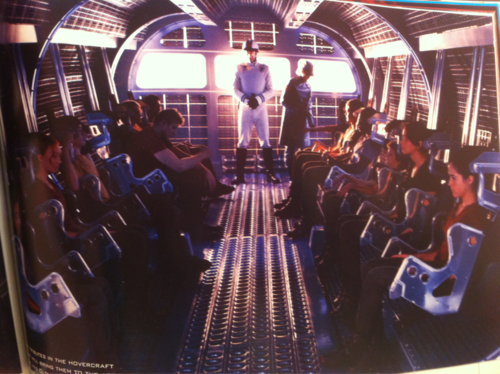 Inside the hovercraft