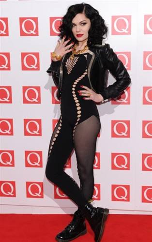 Jessie J wallpaper with a leotard and tights called JESSIE J :P