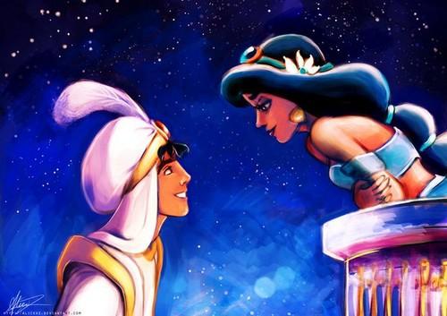 Jasmine&Aladdin ♥
