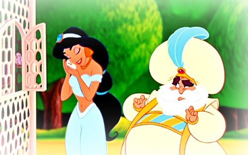 Disney Princess wallpaper entitled Jasmine Wallpaper