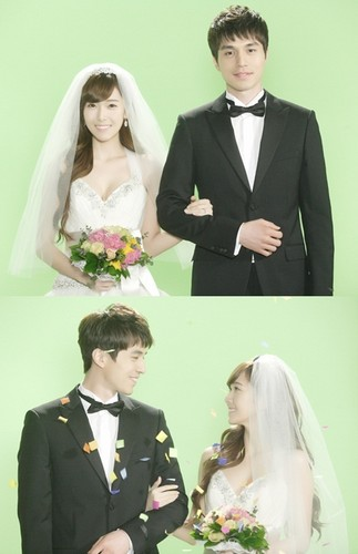 Jessica and Lee Dong Wook @ KBS Wild Romance Wedding Picture - Official