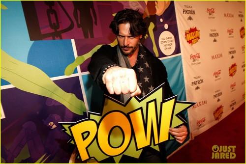 Joe Manganiello achtergrond with anime called Joe Manganiello: Maxim Super Bowl Party!