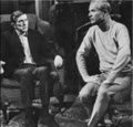 Jonathan Frid and Louis Edmonds
