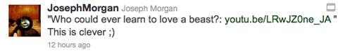Joseph morgan has tweet a Klaroline fan video
