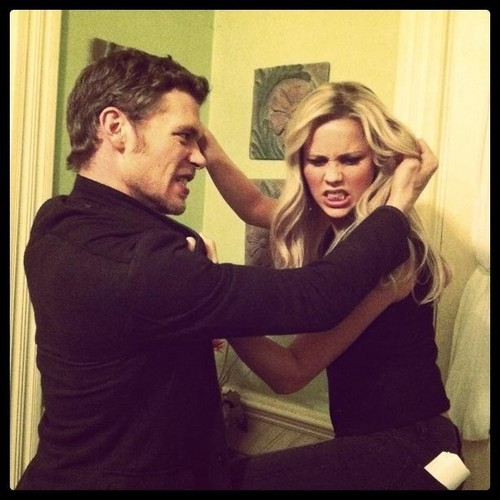 Joseph and Claire Holt
