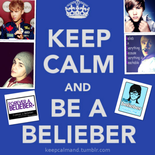 Justin Bieber-Keep calm...