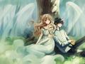 Kamui Shirou and Kotori Monou
