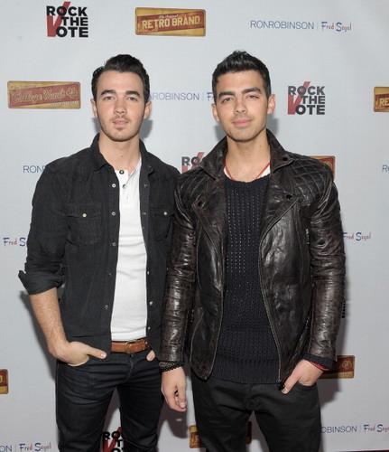 Kevin and Joe Jonas - 2012