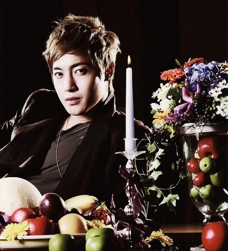 Kim Hyun Joong too cute