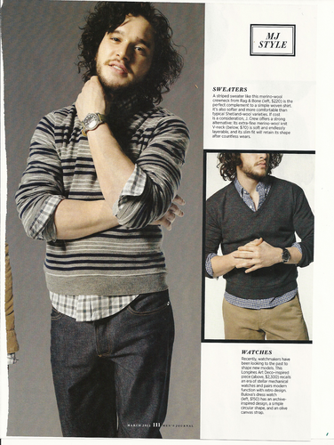 Kit Harington- Men's Journal