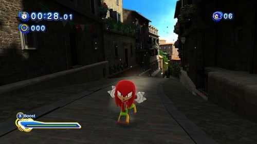Knuckles- sonic generations