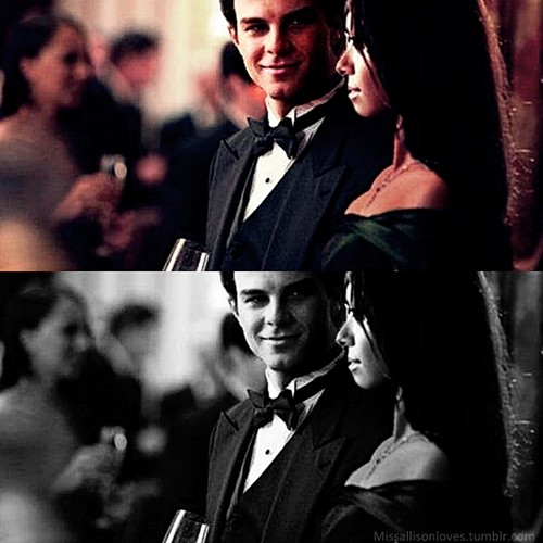 Kol meets Bonnie at the Ball.