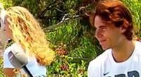 Kvitova and Nadal 2012