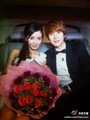 Kyuhyun with his wife