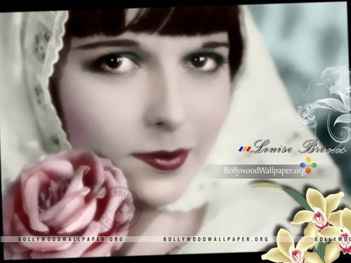 Louise Brooks Обои with a portrait called LB <3