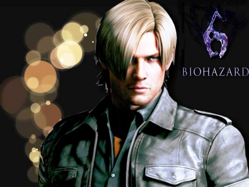 Resident Evil wallpaper entitled Leon RE6 wallpaper