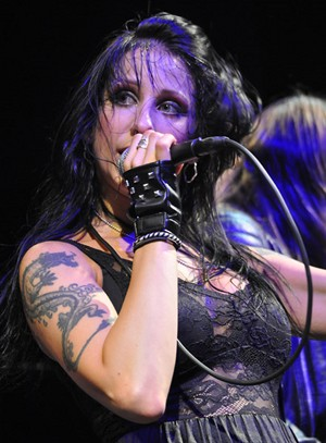 "Liv Jagrell (From the heavy metal group ""Sister Sin"")"