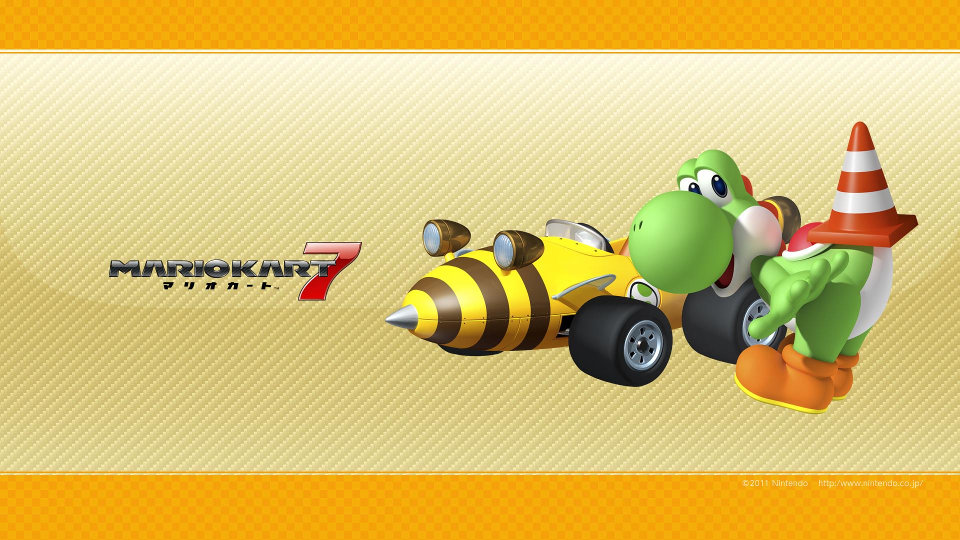 MK7 yoshi