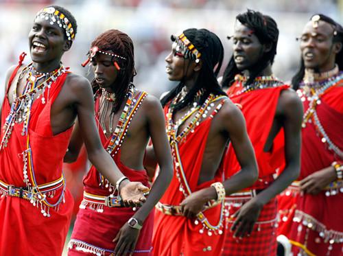 Maasai - Senior Boy Ceremony