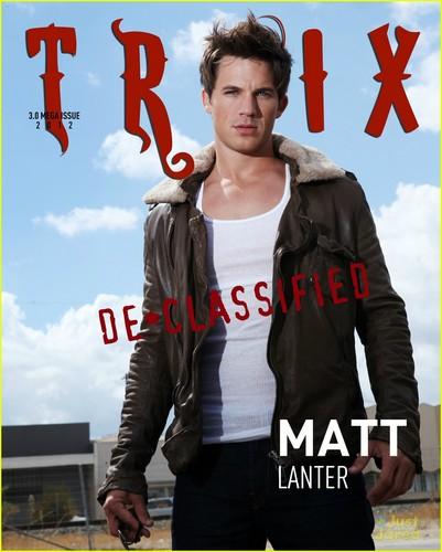 Matt Lanter: Troix Mega-Issue Cover Guy!