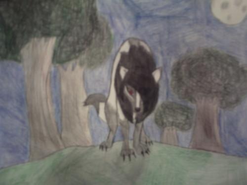 Me as a Demon chó sói, sói NEW LOOK