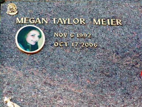Megan Meier's gravesite
