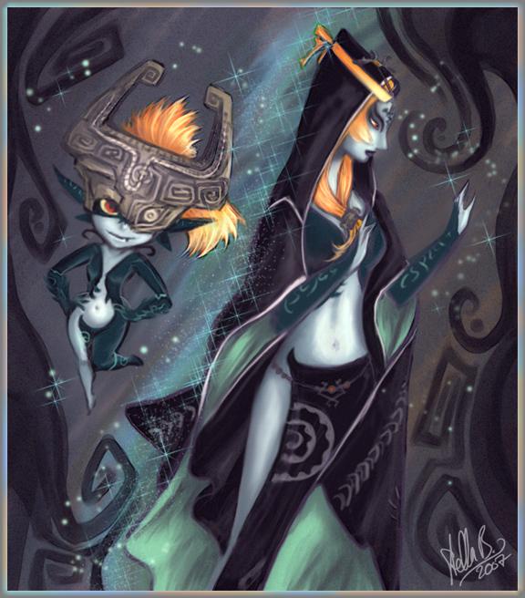 Zelda Twilight Princess Midna Midna Fan Art . ~ - Th...