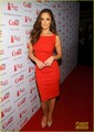 Minka Kelly: corazón Truth's Red Dress Fashion Show!