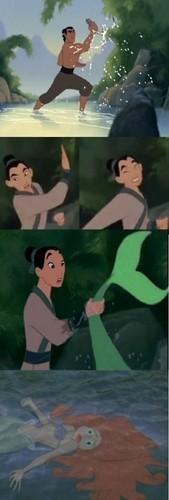 Mulan & Ariel