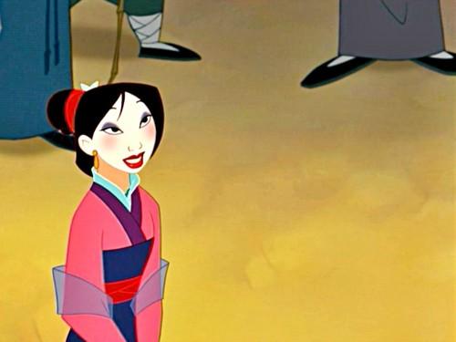 Disney Princess wallpaper entitled Mulan Wallpaper