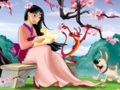 disney-princess - Mulan Wallpaper wallpaper