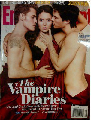 New magazine cover of Nina, Ian and Paul.