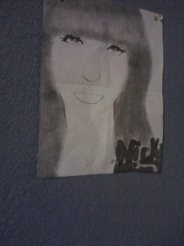 Nicki da my friend (anonymous)